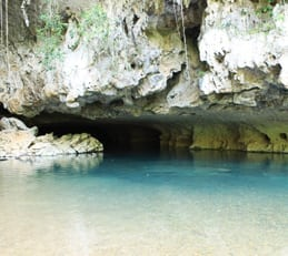 Cave Tubing Entrance