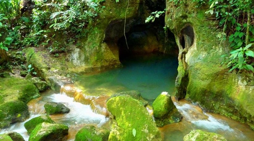 BELIZE ATM CAVE (Actun Tunichil Muknal) with LUIS
