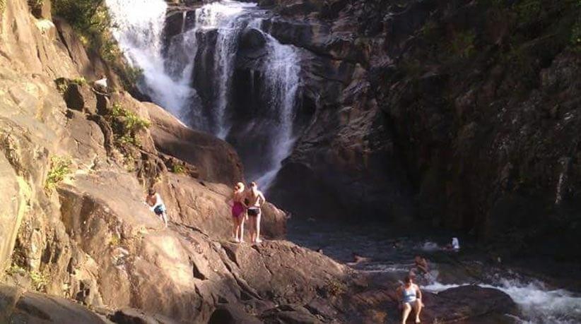 Waterfalls in belize