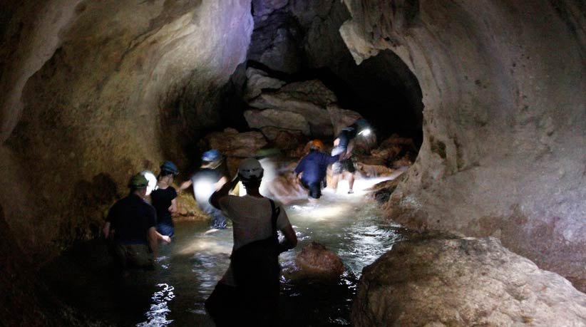 inside the atm cave belize