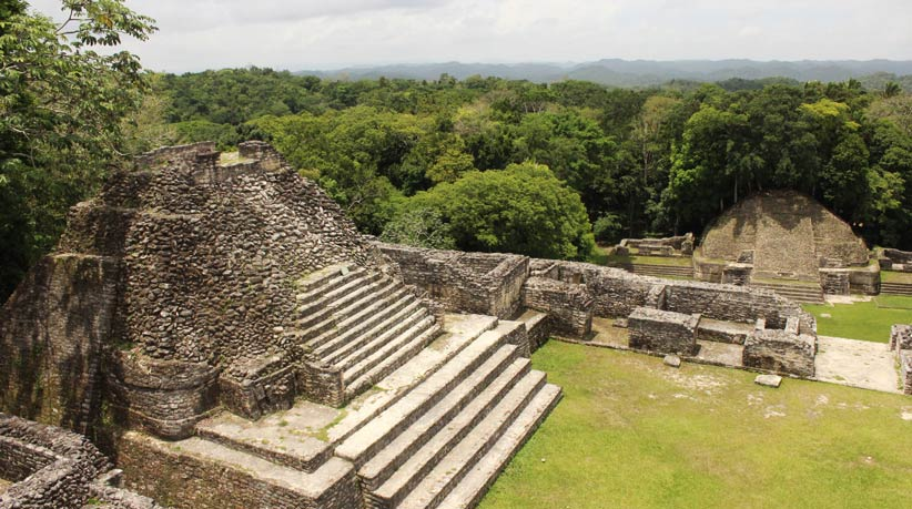 Caracol Ruins in Belize