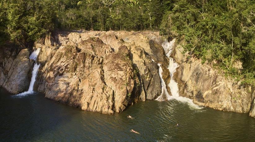 Belize Waterfall and Jungle Pontoon Adventure