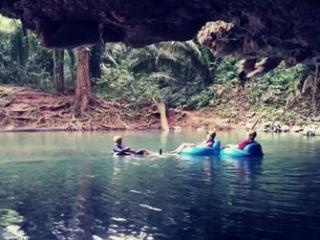 cave tubing san ignacio
